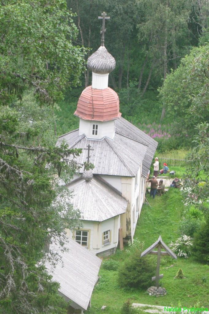 Церковь Воскресения Христова на острове Анзер