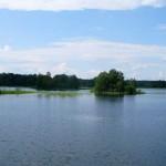 Онежское озеро. Островки.