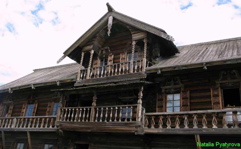 Дом Ошевнева на острове Кижи. Галереи.