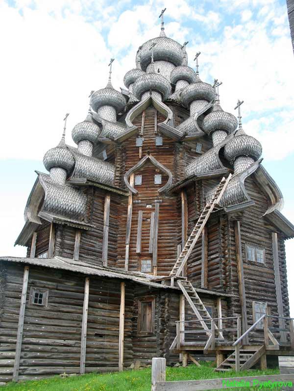 Остров Кижи. Преображенская церковь.