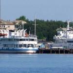 Тамарин причал на Большом Соловецком острове.