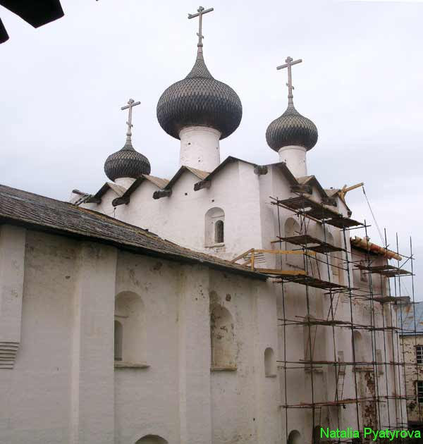 Успенская церковь Соловецкого монастыря.