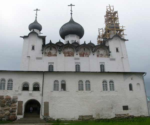 Соловецкий монастырь. Спасо-Преображенский собор.