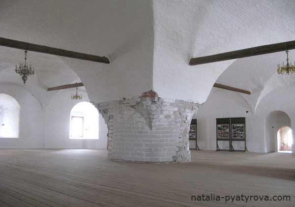Соловецкий монастырь. Трапезная палата.