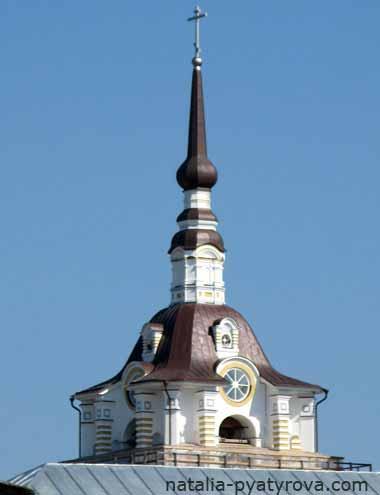 Соловецкий монастырь. Колокольня.