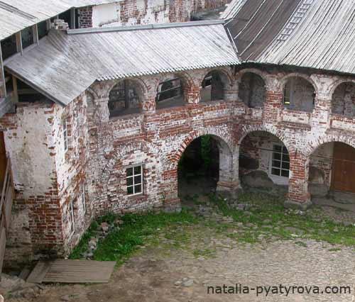Соловецкий монастырь. Мельница.