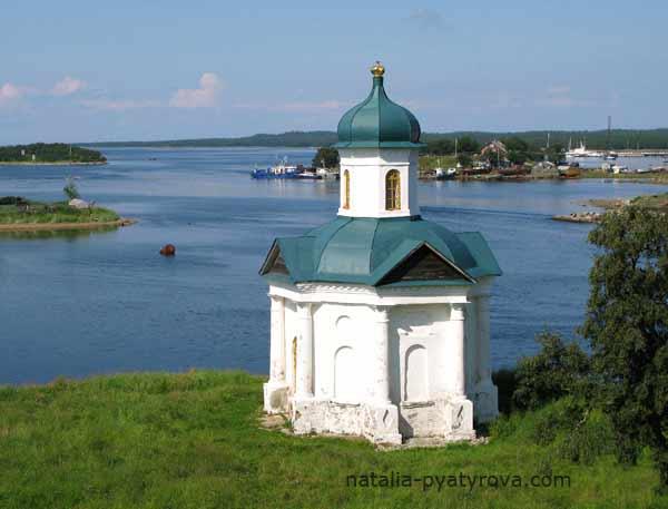 Александровская часовня Соловецкого монастыря.