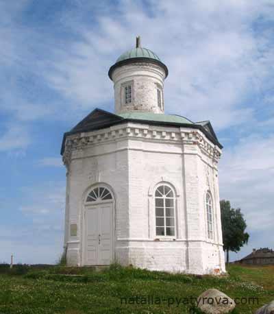 Константиновская часовня Соловецкого монастыря.