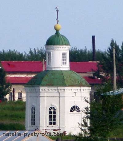 Петровская часовня Соловецкого монастыря.