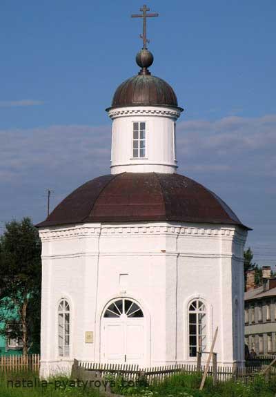 Филипповская часовня Соловецкого монастыря.